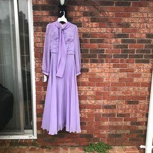 Beautiful Vintage Grace Kelly Lavender Dress